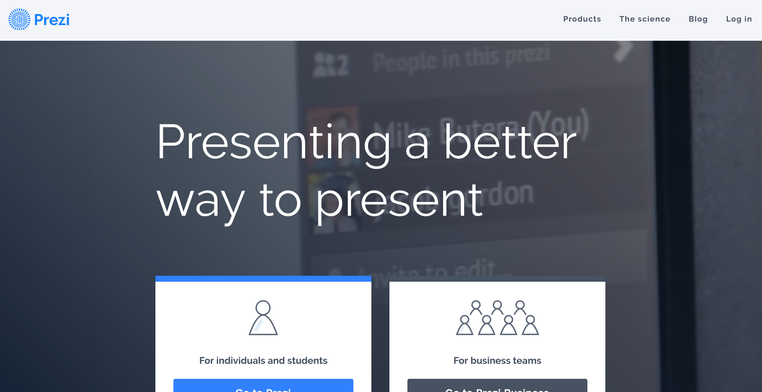 Prezi is a better way to present - presentation tool