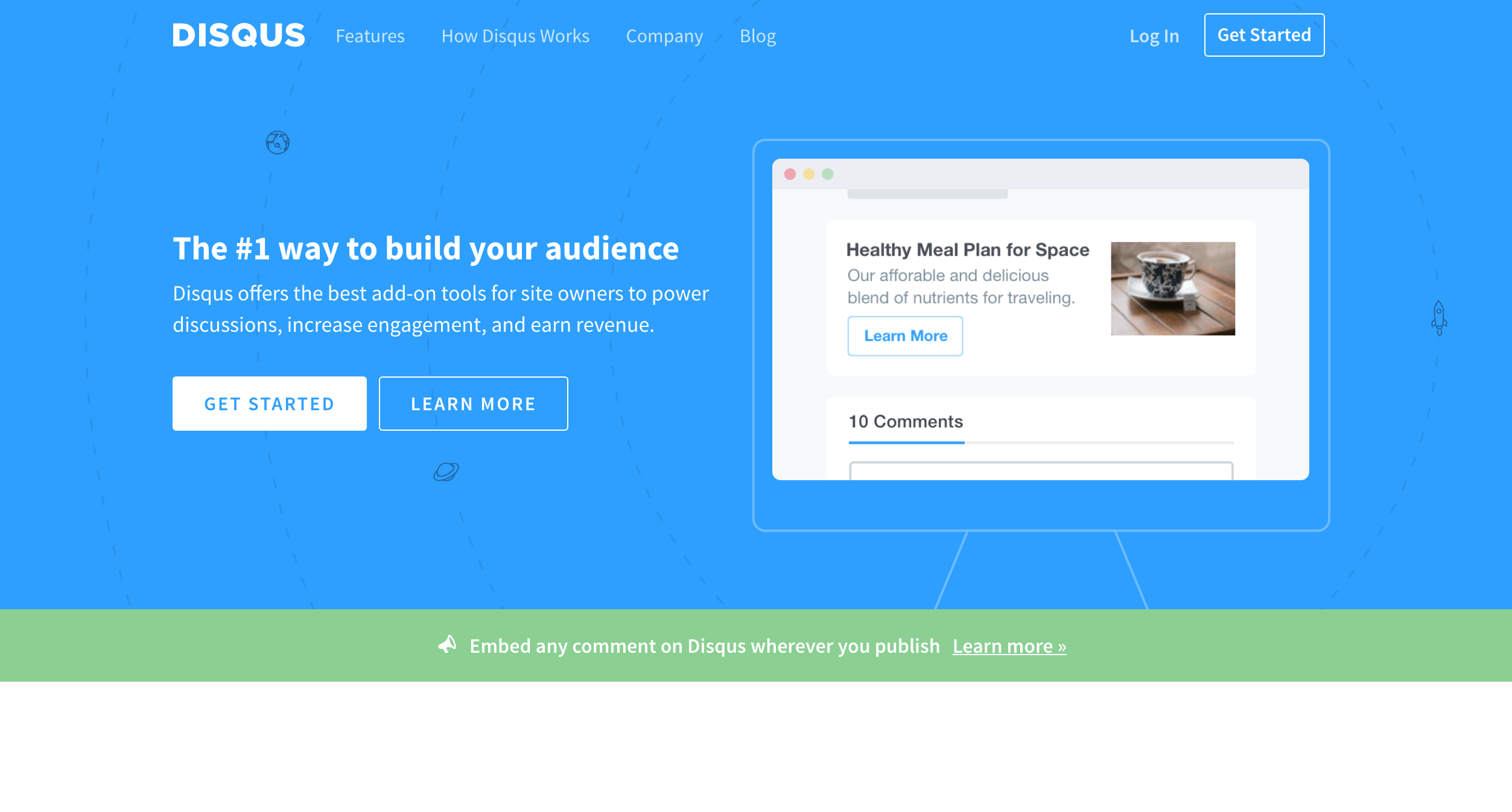 Disqus is a web management tool and business management tool
